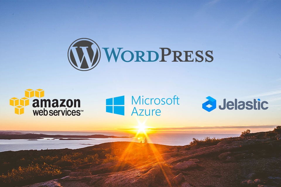 AWS vs. Azure vs. Jelastic in WordPress deployment